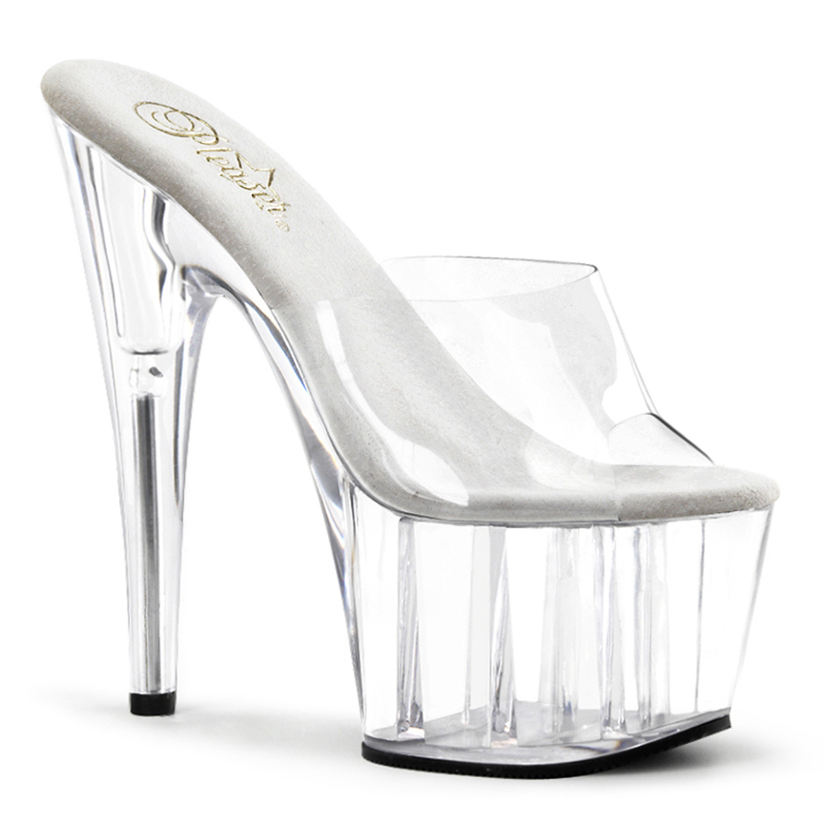 Pleaser Adore 701(Women's) -Clear/Clear Cheap Sale Amazing Price svUFfev