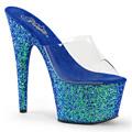ADORE-701LG Fetisch Glitter & paljetter Sandal