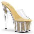ADORE-701SRS Fetisch Glitter & paljetter Sandal