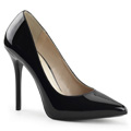 AMUSE-20 Klassisk elegans Pumps Stilettklack Vegan