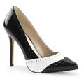 AMUSE-26 Gangster Pumps Stilettklack Vegan