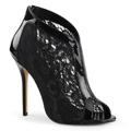 AMUSE-48 Gothic Peep-toe Pirates & Gypsies Skolett Stilettklack Vegan