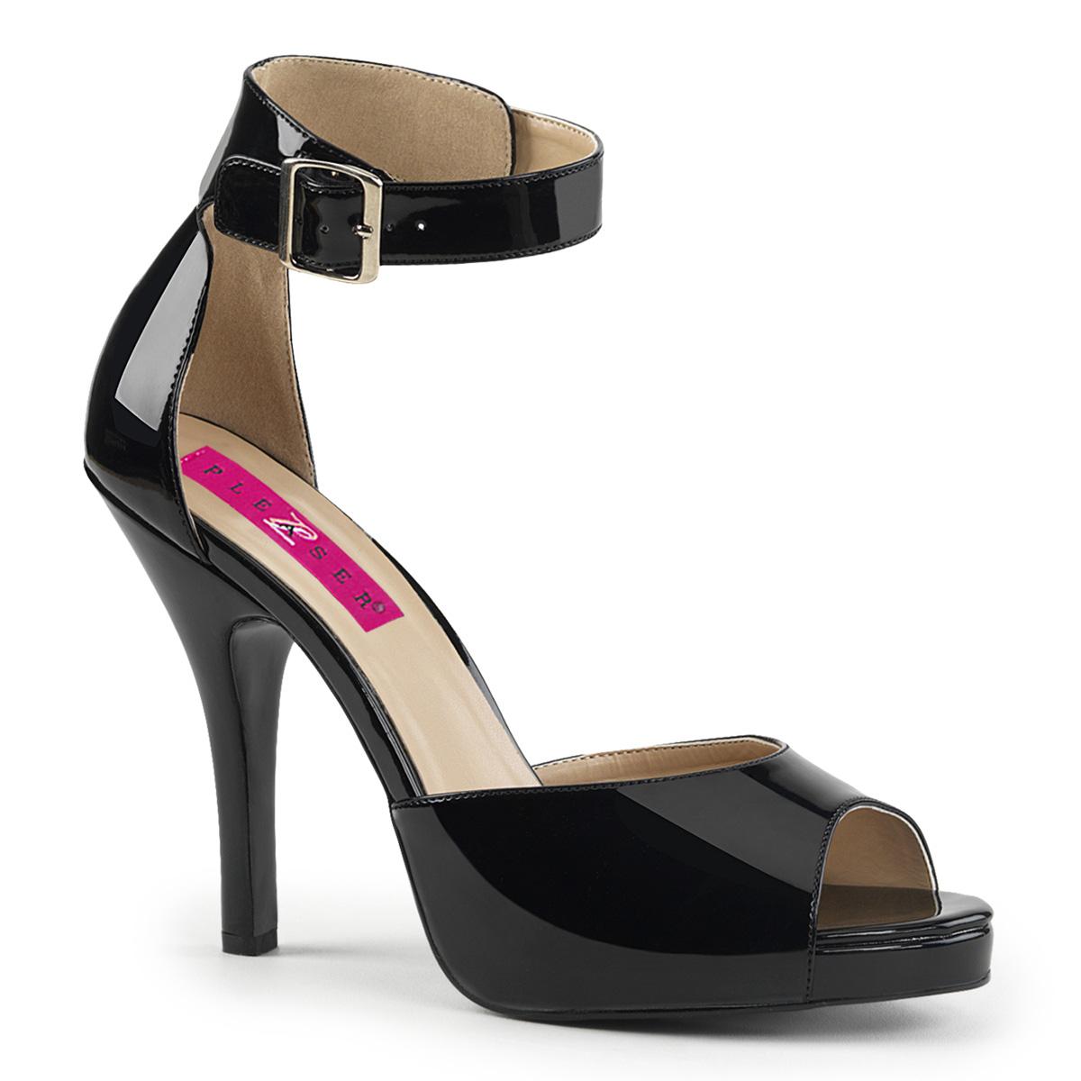 Pleaser Pink Label Eve-02 Ankle Strap Sandal (Women's)