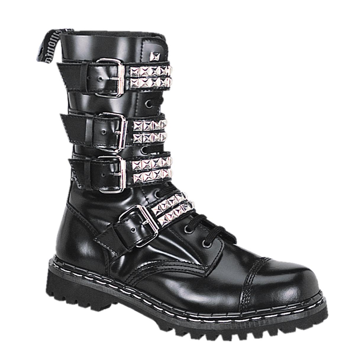 Demonia GRAVEL-10S Blk Leather UK  3  (EU 36 )