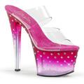 STARDUST-702T Fetisch Glitter & paljetter Sandal