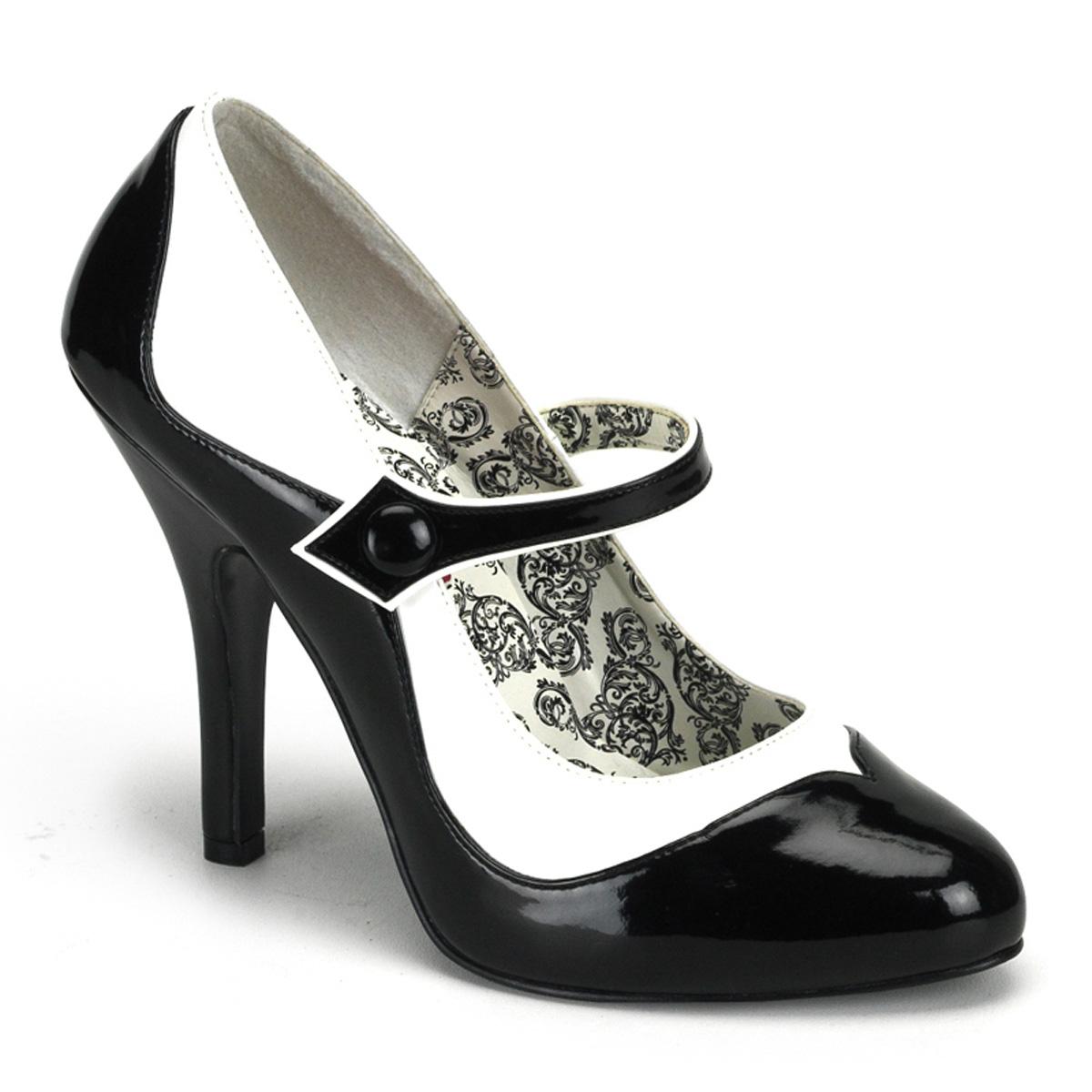 Prices For Sale Cheap Purchase Bordello Tempt 07(Women's) -Black/White PU Best Choice lUIutDIr
