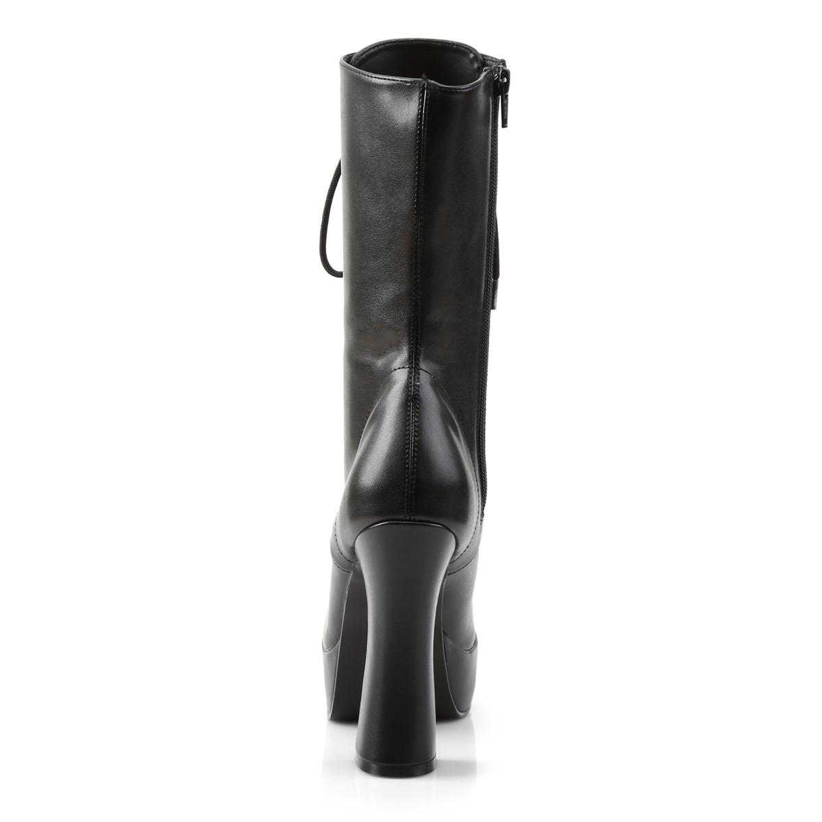 Pat Leather Matte Noir Blk Pleaser 1020 Faux Noir Noir Electra 6qx8API